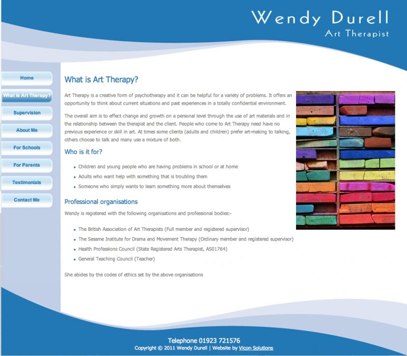 Wendy Durell Website