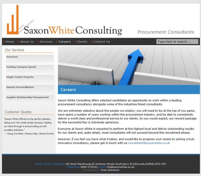 Saxonwhite Homepage