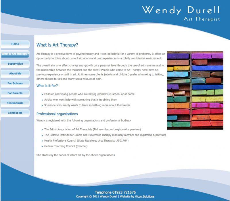 Wendy Durell Website